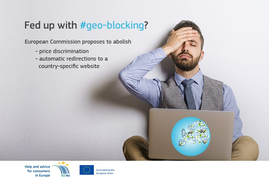 ECC Ireland welcomes European Commission's new e-commerce package on geo-blocking