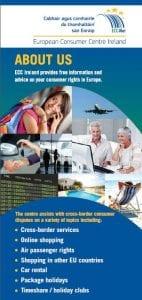 European Consumer Centre (ECC) Ireland About us leaflets