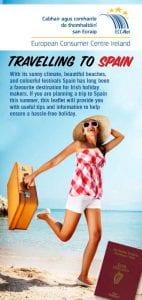 Travelling to Spain leaflet European Consumer Centre (ECC) Ireland