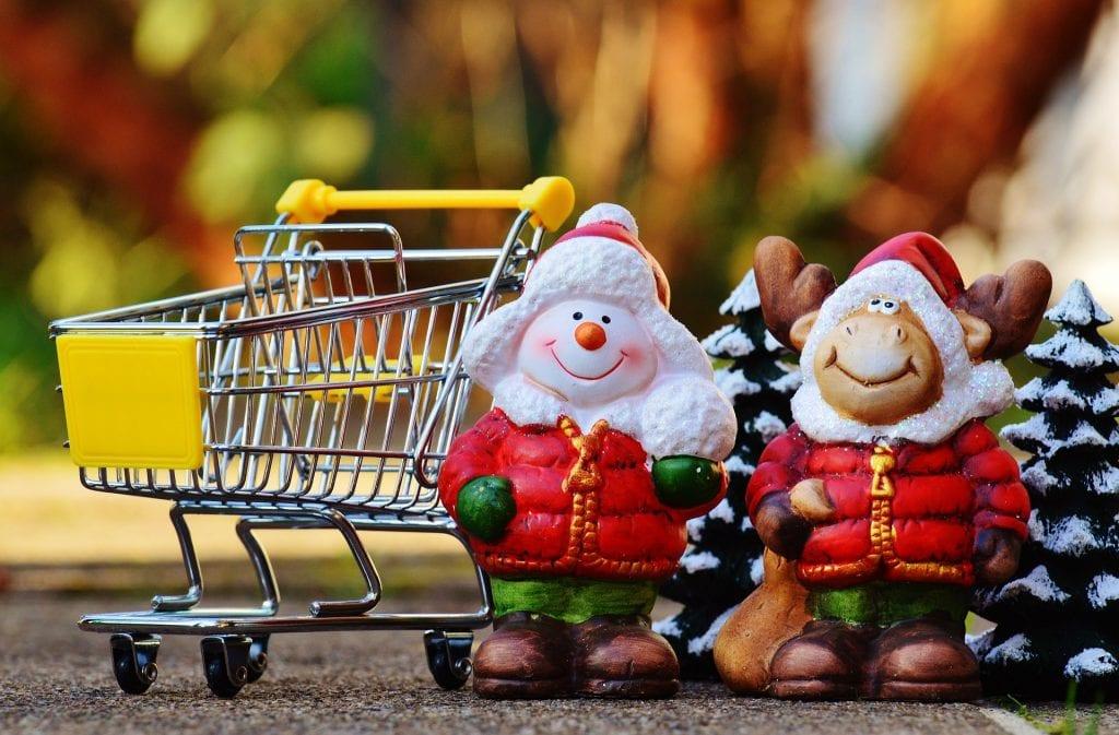 Christmas shopping returns